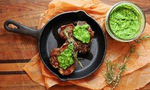 Мята - приправа к мясным блюдам