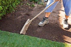 Подготовительная очистка грунта газона