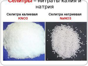 Как из натриевой сделать калиевую селитру